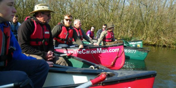 Guided Canoe Trips -